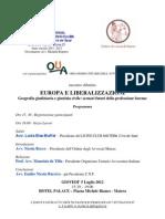 EUROPA E LIBERALIZZAZIONI Geografia giudiziaria e giustizia civile