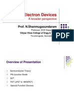 Electron Devices - A Broader Perspective (Compiled by Prof.N.Shanmugasundaram)