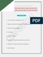 BOCW Act Checklist Final