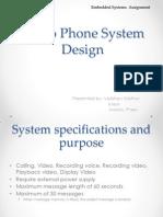 Assignment_2 Video Phone System Design_vaibhav Mathur (Sc08b107)