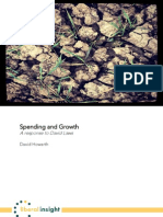 Spending and Growth - David Howarth