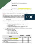 Protocol Designer Instructional