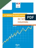 Activité industrielle Résultats Avril 2012