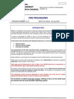 Procedure Fire