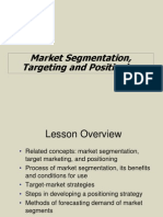 IMS Market Segmentation, Targeting and Positioning (2)