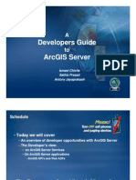 A Developers Guide to Arcgis Server Ds09