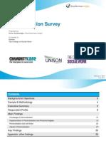 Personalisation Survey 2012