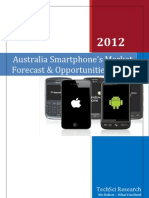 Australia Smartphone Market Forecast and Opportunities 2017