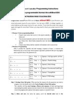 190A ESC Manual