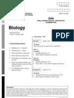 2006 CSSA Biology Trials