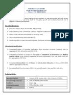 Web Aplctn Resume