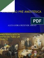 Aula - Avaliação Pré Anestésica