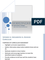 Gs-Assessing the Curriculum