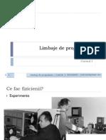 Limbaj de programare C1