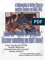 Life Group Flyer
