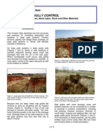 Forestry Note, Side Gully Control Fact Sheet