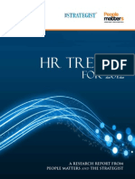 HR Trends for 2012 - The Strategist - Final Report