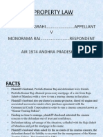 Bamdev Panigrahi v Monorama Raj(Property Law Case) (1)