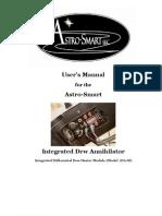 Dew Annihilator iDA-M User's Manual Rev2