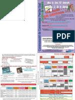 Centre de Loisirs Perche Sud 2012 - Programme août des 3 à 8 ans