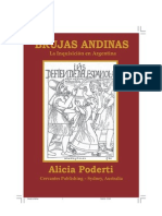 BRUJAS ANDINAS La Inquisicion en Argentina Por Alicia Poderti