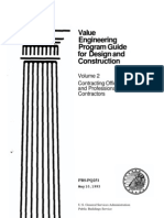 Value Engineering Program Guide for Design and Construction Vol 2