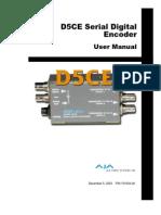 AJA Manual D5CE