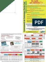 Centre de Loisirs Perche Sud 2012 - Programme août des 9 à 12 ans