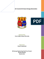 Mapping Irelands Current & Future Energy Generation