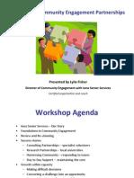 Sustainabilility & Creative Community Engagement Parternships
