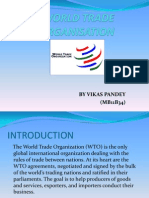 Introduction on World Trade Organisation