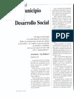"""Ignacio Garda Ortiz """"El municipio y el desarrollo social"""""""