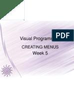 Visual Programming 5