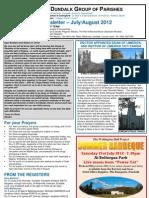 Parish Newsletter - July/August 2012