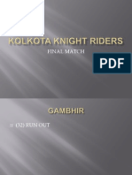 Kolkota Knight Riders