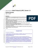 EPCglobal LLRP Ratified Standard 20April 20042007 V1.0