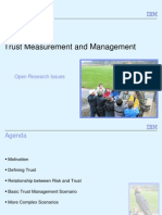 Alan Hartman - Trust Measurement and Management - SESERV SE Workshop June 2012