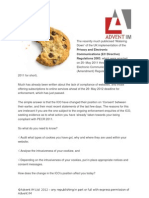 Cookies & Implied Consent