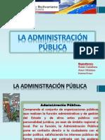 Presentacion Adm. Publica