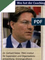 Branche zu noch semiprofessionell - wirtschaft & weiterbildung, Januar 2004