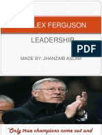 Sir Alex Ferguson Leadership