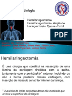 Hemilaringectomia, Hemilaringectomia Ampliada e  Laringectomia Quase-Total.