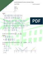 Soluciones de Hoja de actividades de números racionales y reales (3º ESO)