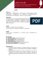 """2° Curso Taller """"Actualización en el Manejo del Trastorno de Déficit Atencional en el Aula Hoy"""