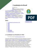 História da Constituição do Brasil e desenvolvimento sustentavel