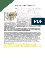 Philippine Quota Visa