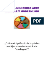 TRIVIAL MINICURSO ARTE MUDÉJAR Y MODERNISMO
