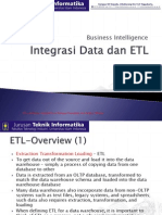 Integrasi Data Dan ETL