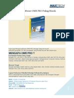 Software Scanner LJK Optical Mark Reader (OMR) Pro