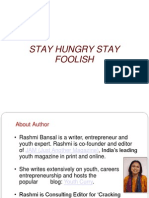 Full stay foolish book pdf stay hungry
